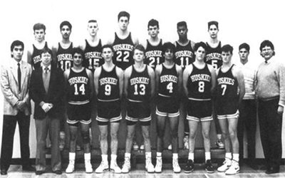 1990 North Delta Huskies AAA Senior Boys Basketball