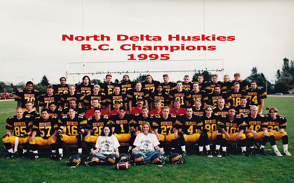 1995 AAA North Delta Huskies